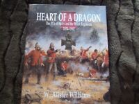 CLEARANCE SALE Book - 'Heart of a Dragon - VC's of Wales & Welsh Regiments' - HB - Brand new