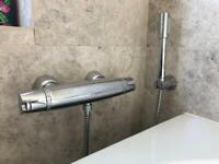 Grohe chrome shower mixer