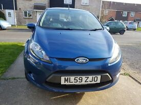 Good condition Ford fiesta, only ever serviced by Ford, M.O.T till Nov 2017. Alloy wheels, viewing!