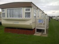 6 berth caravan for hire. 24th to 28th oct.