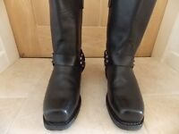 Red Wing biker boots - new - size 8.