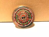 Large Poker Kaleidoscope Metal Card Guard Hand Protector Coin
