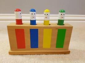 Galt Pop up toy - classic wooden toy