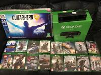 Xbox one 1tb with Kinect and 16 games