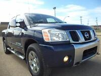 2007 Nissan Titan LE CREWCAB-SUNROOF=H/LEATHER 4X4-ONE OWNER