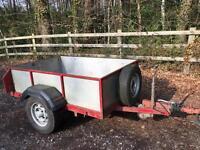 Solid braked trailer for sale