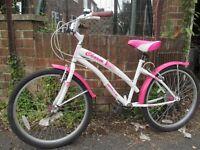 "Apollo Charm girl's bike 24"" wheels"