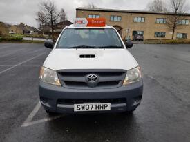 2007 Toyota Hilux 2.5 D-4D HL2 Pickup 4WD 2dr (EU4) FSH LONG BED NO VAT...