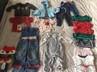 Boys baby clothes bundle. 9-12 monjs