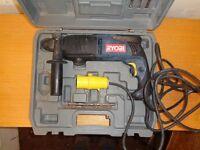 Ryobi drill, hitachi saw and makita angle grinder all 110v