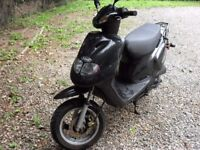 Moped TGB 202 very good condition 12 months MOT Bargain.