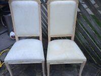 Dinning chair , as seen, £5 each
