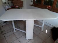 Drop leaf dining table for sale, Great Shelford, Cambridge.