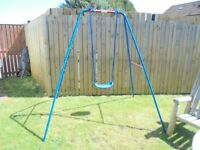 Great Condition Childs Metal Swing