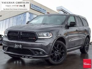 2018 Dodge Durango GT AWD * Navigation * Power Sunroof