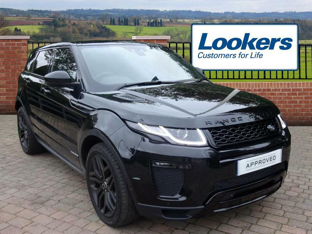 land rover range rover evoque si4 hse dynamic black 2016. Black Bedroom Furniture Sets. Home Design Ideas