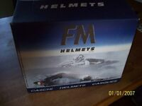 FM CRASH HELMET