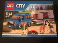 New Lego city van and caravan