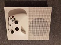 Xbox One S Boxed with 2 Games and 11 Blue-Ray DVDs as New £170 No Offers Immediate Pickup