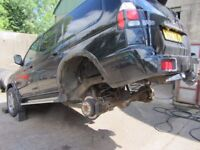 Waxoyl, chassis rust protection, welding. Mitsubishi, Toyota, Land Rover, 4 x 4's.