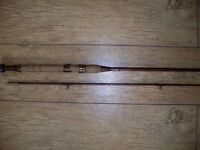 A Martin James fishing rod in lovely condition, it is a two piece rod.
