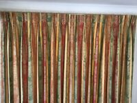 Used, lined,2 pairs of pinch pleat curtains suitable for very large windows see add for details