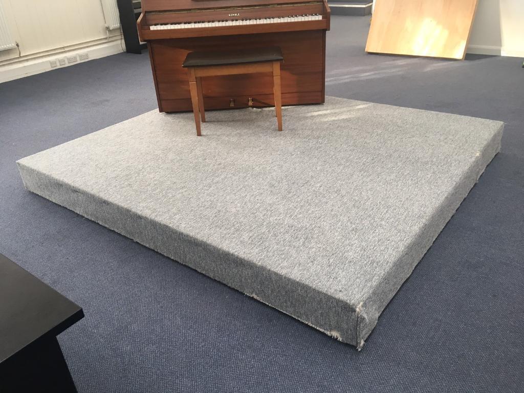 Soundproof stage plinth platform for stage school amateur dramatics theatre?
