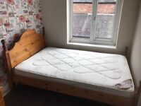 3/4 bed with mattress