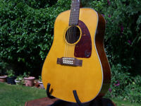 """Roy Orbison """"Oh, Pretty Woman"""" Limited Edition Epiphone Bard 12 string acoustic guitar & hard case"""
