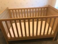 Wardrobe, cot(bed) and chest of drawers /changing table