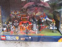 rare lego nexo knights shop display