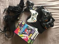 Xbox 360 bundle + Kinect + Games