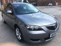 2005 MAZDA 3 1.6 D TS2, DIESEL, MANUAL, SALOON, LONG MOT, P/X TO CLEAR, CHEAP RUNABOUT!!