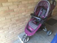Baby Jogger City Mini stroller with extras