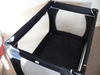 Red KIte travel cot. Hardly used. Grandparents standby. Excellent condition.