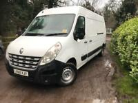 Renault master 2.3 TD 125bhp lwb high roof mint condition