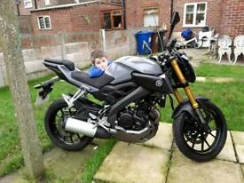 YAMAHA MT125 ABS 2016 IN GOOD CONDITION CAT C FULLY REPAIRED £2300 No offers