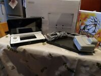 Nintendo DS Ice white, in protective case with Pokémon sun game