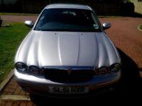 Jaguar X-Type. V6 Auto. Petrol. Reg.2001. Low mileage 68,000. No MOT.