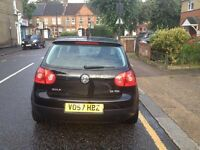 volkswagen golf ,diseal, 07 plate, 5 door, 10 month mot and tax