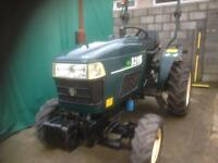 Compact tractor.