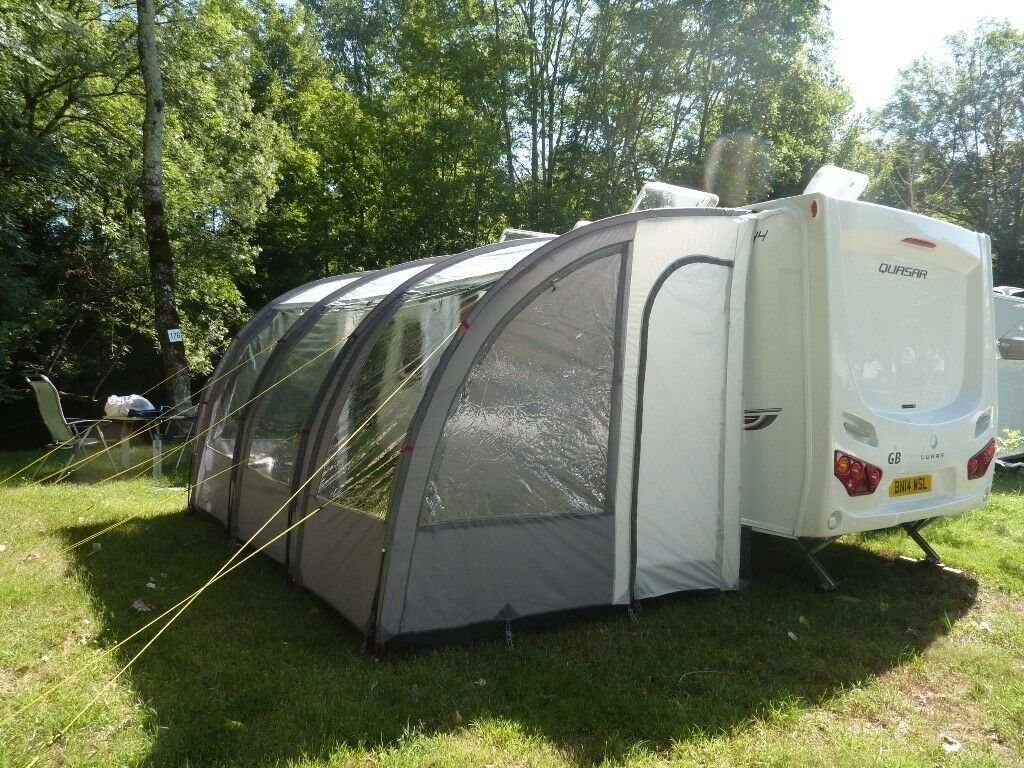 Leisurewize Ontario 390 Lightweight Caravan Awning In Norwich