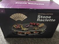 Andrew James Stone Raclette - Perfect New Condition - Never Been Opened