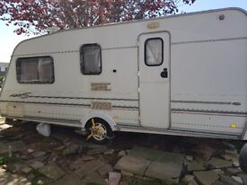 Swift Classic Baronette 2000 4 berth caravan, with all you need to hitch and go!