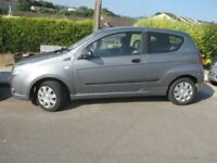 A chevrolet aveo s bodywork good some mechanical issues good little runner economical on fuel.