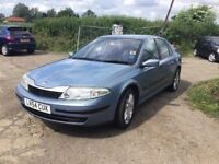 54 REG RENAULT LEGUNA WITH FULL SERVICE HISTORY TOW BAR HALF LEATHER INTERIOR VERY CLEAN CAR PX WELC