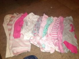 Girl clothes 9-12 big bundle of clothes
