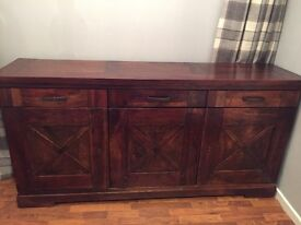 Gorgeous solid wood sideboard