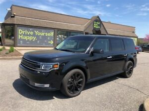 2017 Ford Flex Limited / NAVIGATION / DUAL MOONROOF / LEATHER