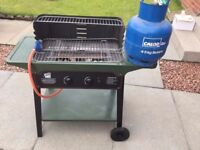 Gas barbeque - including gas tank